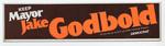 Keep Mayor Jake Godbold sticker