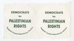 Democrats for Palenstinian Rights sticker
