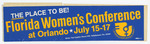 Florida Women's Conference sticker