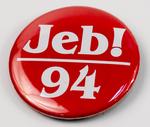 Jeb! '94 Campaign Button
