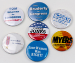 Assorted Campaign Buttons