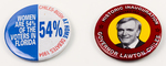 Lawton Chiles Campaign Buttons