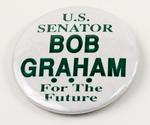 Bob Graham Senate Campaign Button