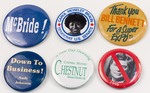 Assorted Political Campaign Buttons