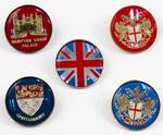 Assorted United Kingdom Pins