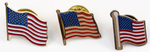 Assorted American Flag Lapel Pins