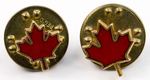 Canadian Maple Leaf Lapel Pins