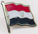 Egyptian Flag Lapel Pin