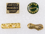 Lapel Pins for Jimmy Carter and Walter Mondale Campaign