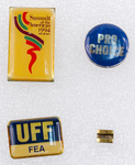 Assorted Women's Rights Lapel Pins