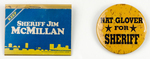 Jacksonville Sheriff Campaign Buttons