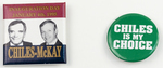 Lawton Chiles Campaign Buttons