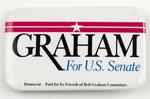 Graham For U.S. Senate Campaign Button