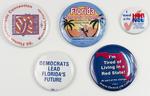 Florida Democrat Campaign Buttons
