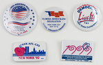 Assorted Democratic Party Campaign Buttons