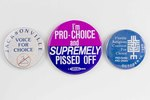 Assorted Reproductive Rights Buttons