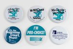Assorted NARAL buttons