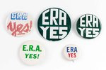 Equal Rights Amendment buttons
