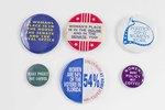 Assorted Women's Political Buttons