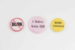 Anita Hill Support Buttons