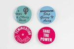 Assorted Women's Rights Buttons