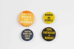 Assorted Feminist Buttons