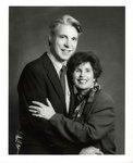 Photograph: Dr. Edna Saffy and Grady Johnson. Circa 1980-1996