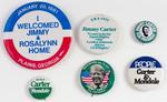Assorted Jimmy Carter Political Buttons
