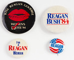 Assorted Reagan Political Buttons