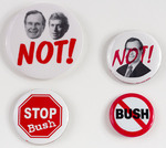 Assorted Bush Political Buttons