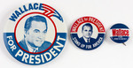 Wallace Campaign Buttons