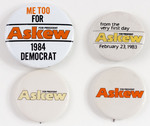 Assorted Askew Political Buttons