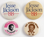 Assorted Jesse Jackson Campaign Buttons