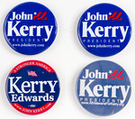 Assorted John Kerry Campaign Buttons