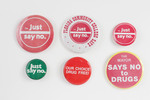 Assorted Anti-Drug Buttons