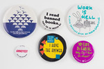 Assorted Book Buttons