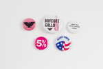 Assorted Protest Buttons
