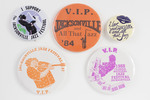 Assorted Jacksonville Jazz Buttons