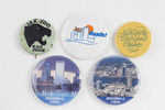 Assorted Jacksonville Florida Buttons