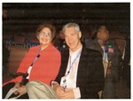 Picture of Dr. Edna Saffy and Dr. Grady Johnson