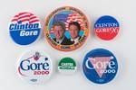 Assorted Democrat Buttons