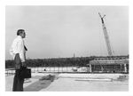 President Carpenter Surveys Construction