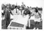 President McCray, UNF Tennis Court Dedication