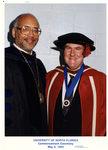President Adam Herbert and Vice President of Academic Affairs Alan Ling