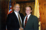 President Herbert and Mayor Delaney