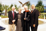 Presidents Curtis McCray, Anne Hopkins, Thomas Carpenter, and Adam Herbert