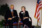 Presidents Adam Herbert and Anne Hopkins