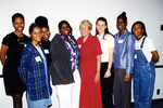 President Hopkins and UNF Pathways Students