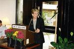 President Hopkins, Faculty Center Dedication