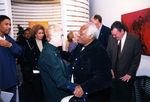 President Hopkins Greets Archbishop Desmond Tutu